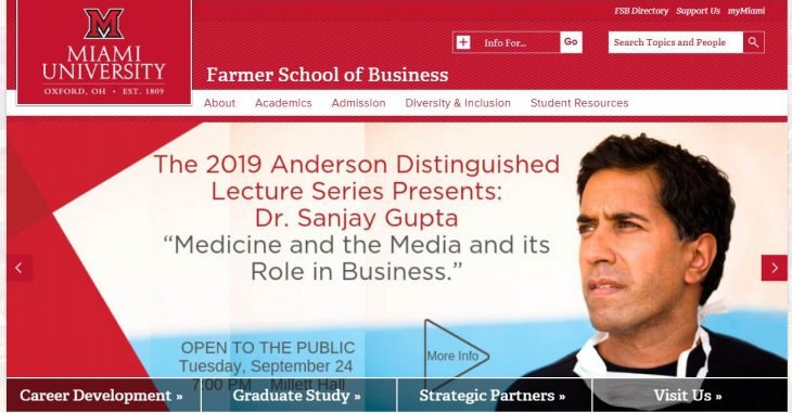 The Farmer School of Business at Miami University--Oxford