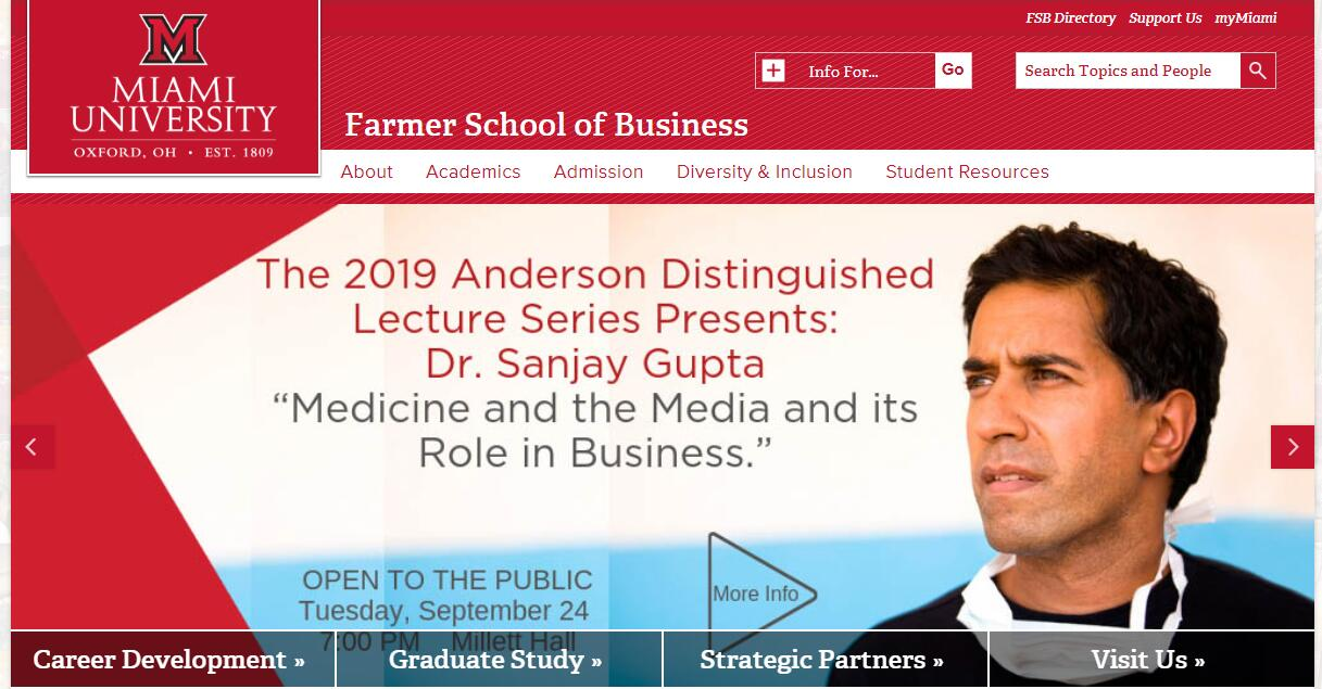 The Farmer School of Business at Miami University–Oxford