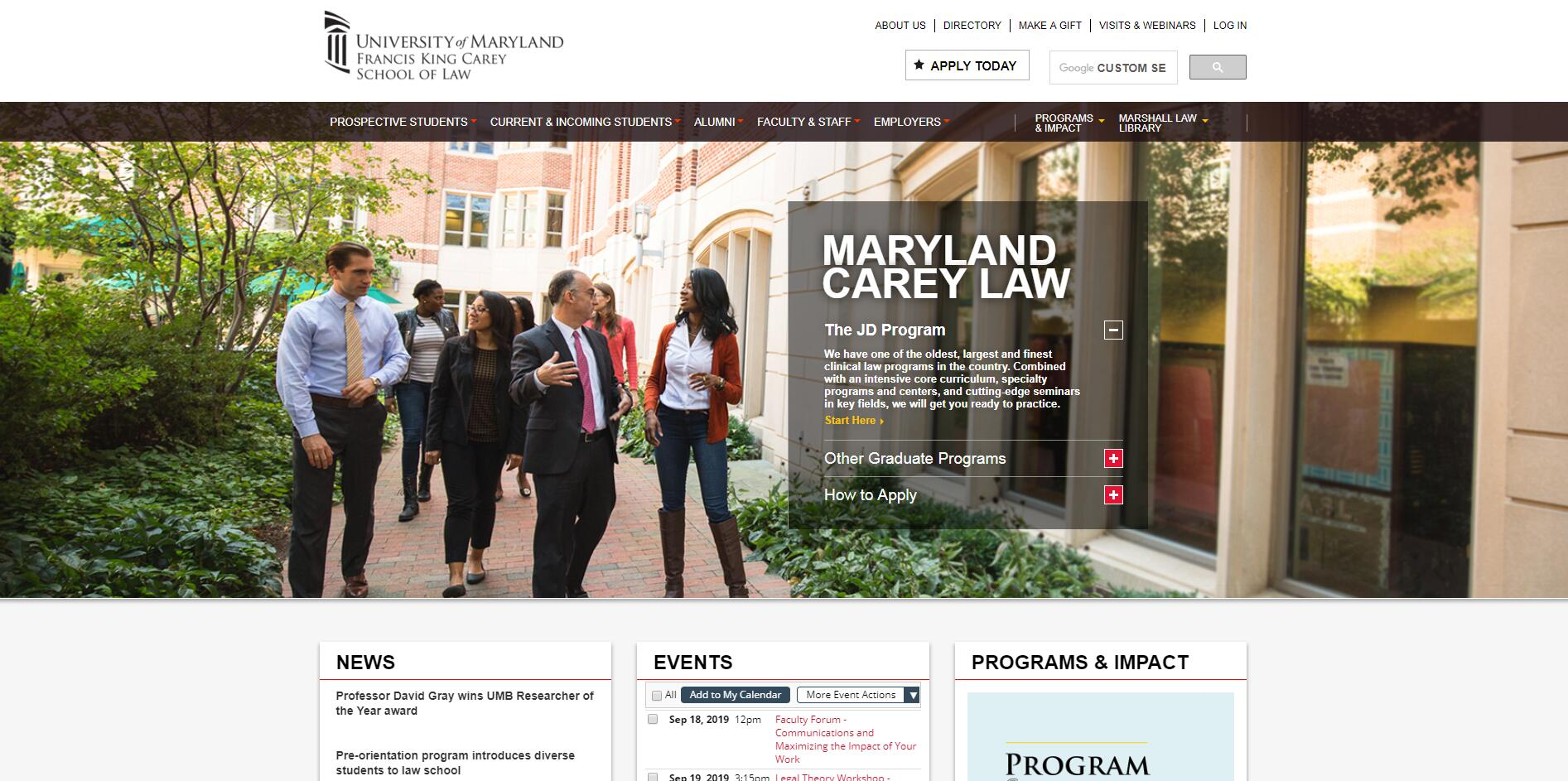 The Francis King Carey School of Law at University of Maryland--Baltimore