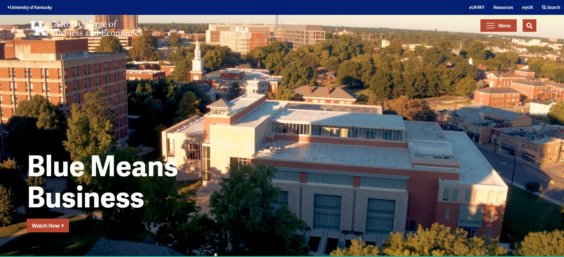 The Gatton College of Business and Economics at University of Kentucky