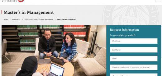 The Graduate School of Management at Clark University