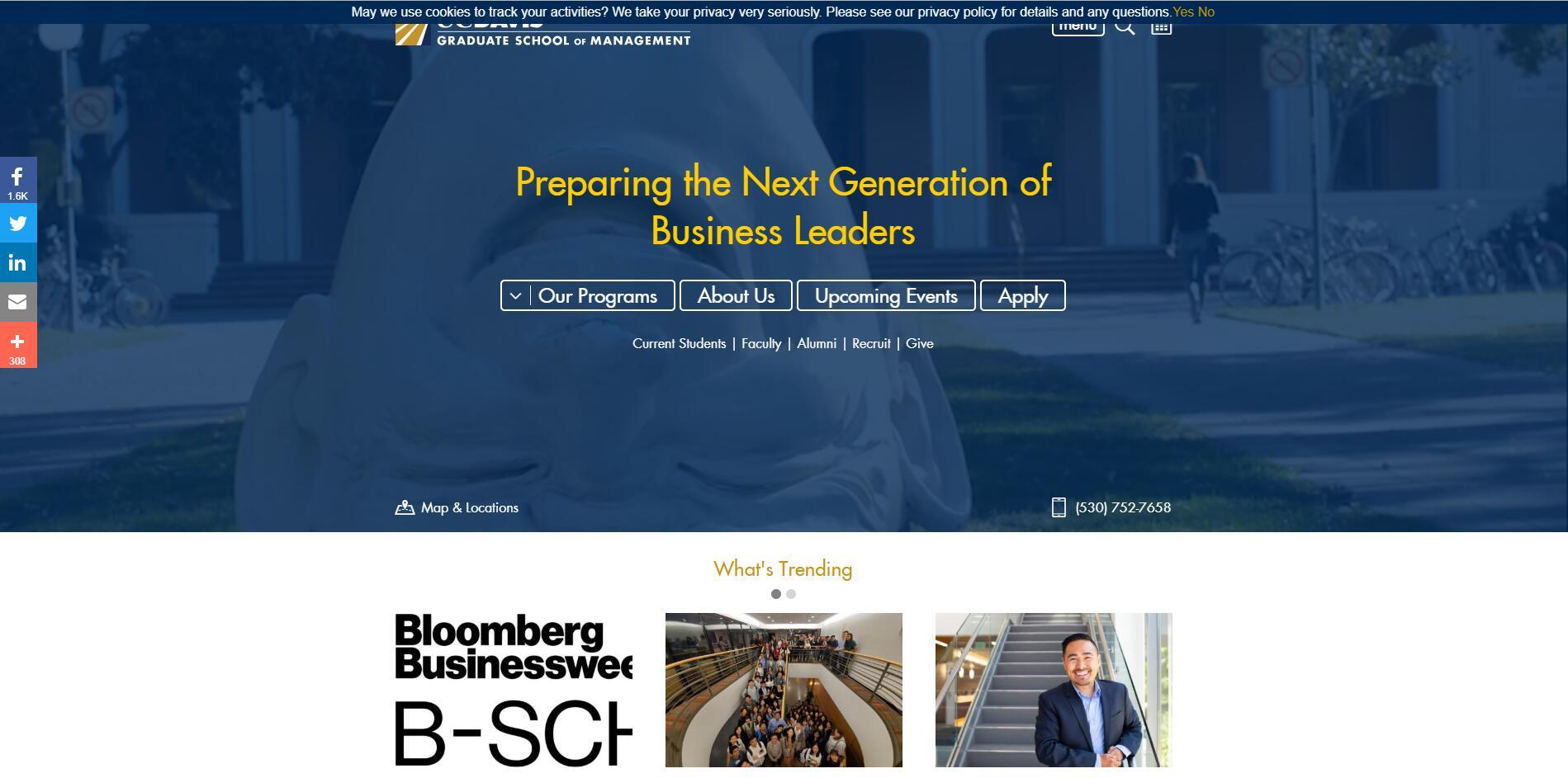 The Graduate School of Management at University of California–Davis