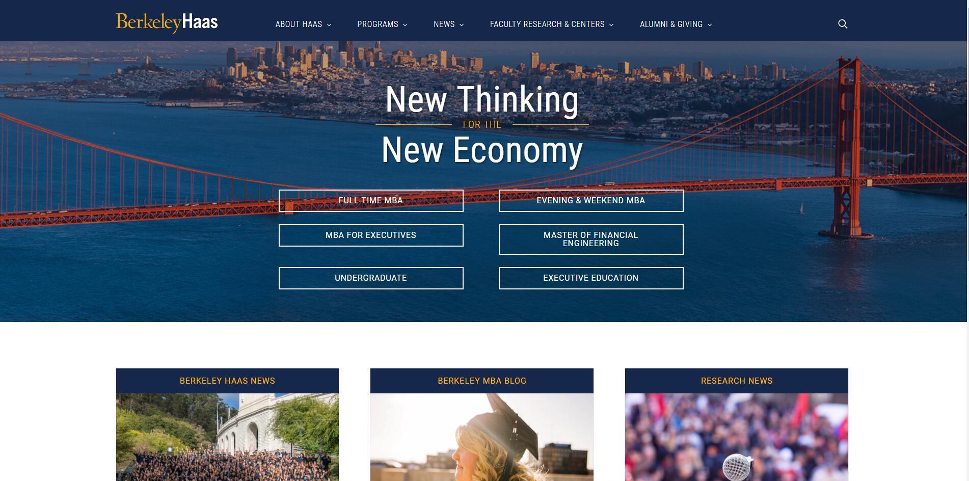 The Haas School of Business at University of California–Berkeley