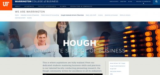 The Hough Graduate School of Business at University of Florida