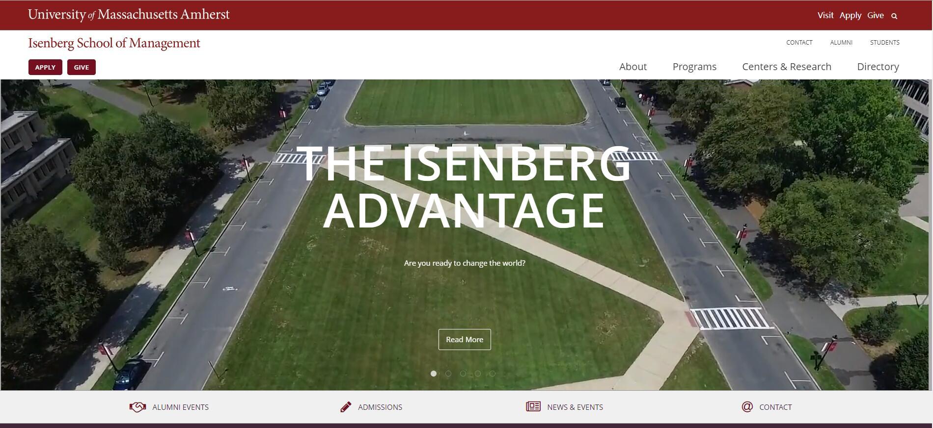The Isenberg School of Management at University of Massachusetts–Amherst