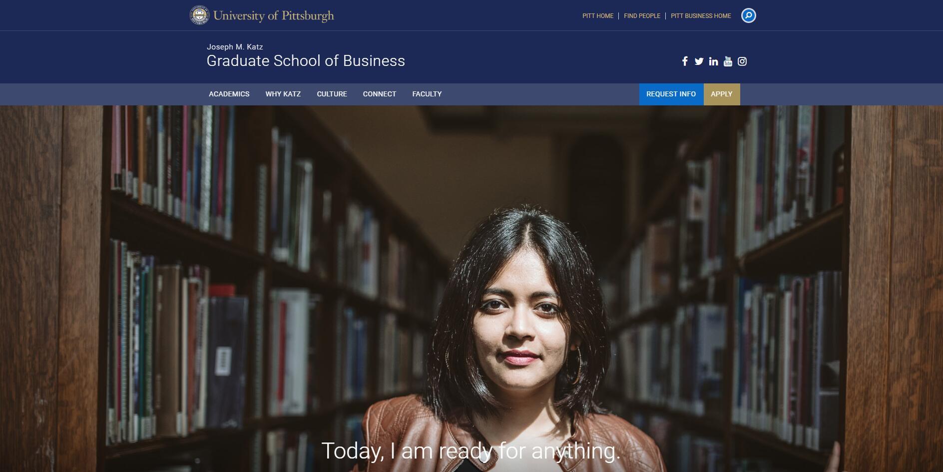 The Katz Graduate School of Business at University of Pittsburgh