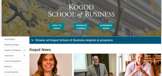 The Kogod School of Business at American University