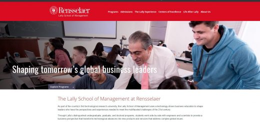 The Lally School of Management and Technology at Rensselaer Polytechnic Institute