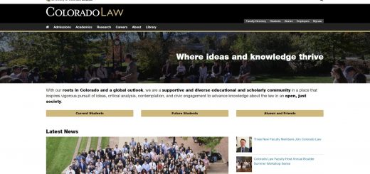 The Law School at University of Colorado--Boulder
