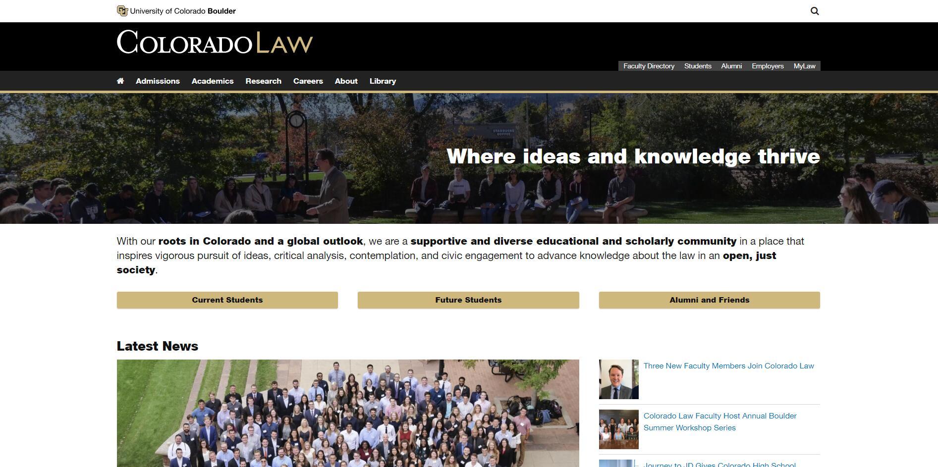 The Law School at University of Colorado–Boulder