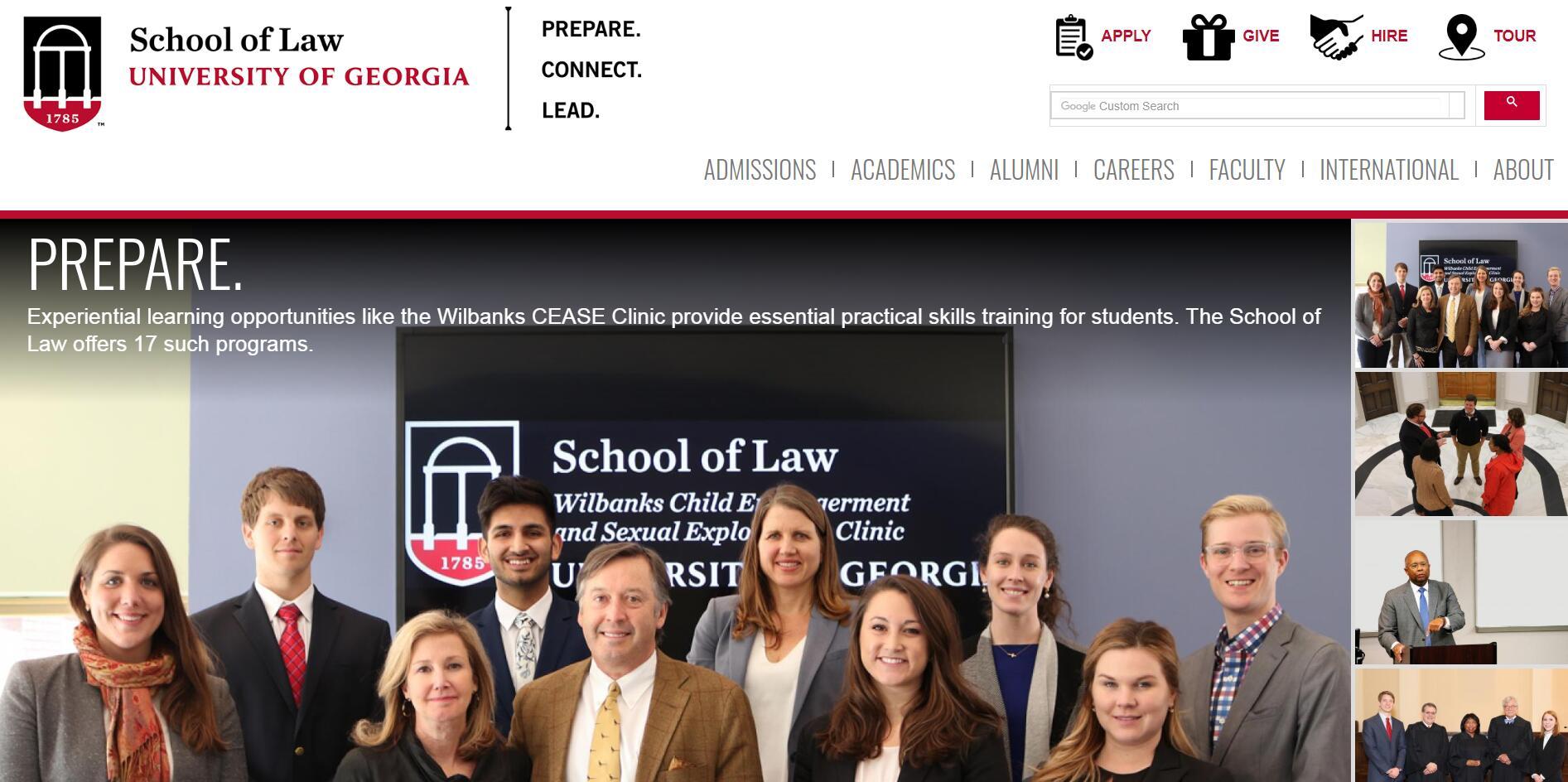 The Law School at University of Georgia