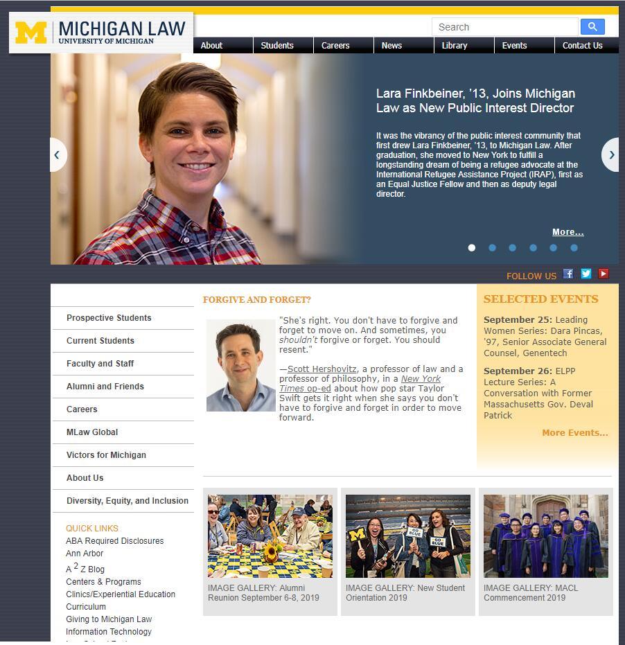 The Law School at University of Michigan--Ann Arbor