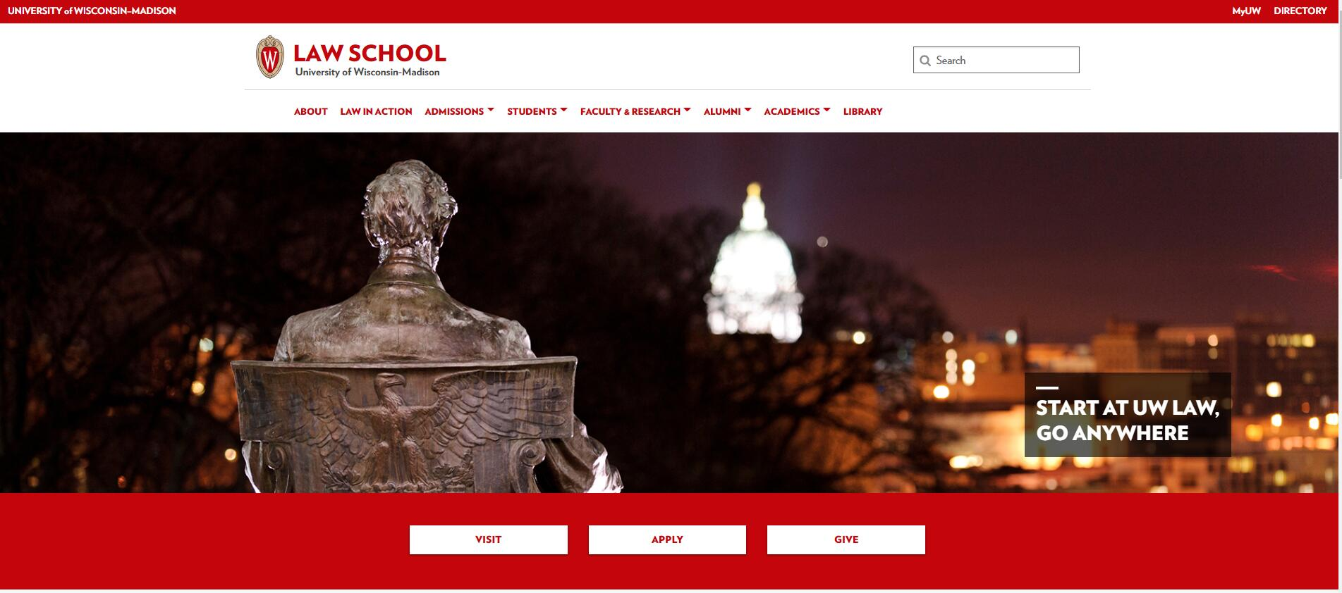 The Law School at University of Wisconsin--Madison