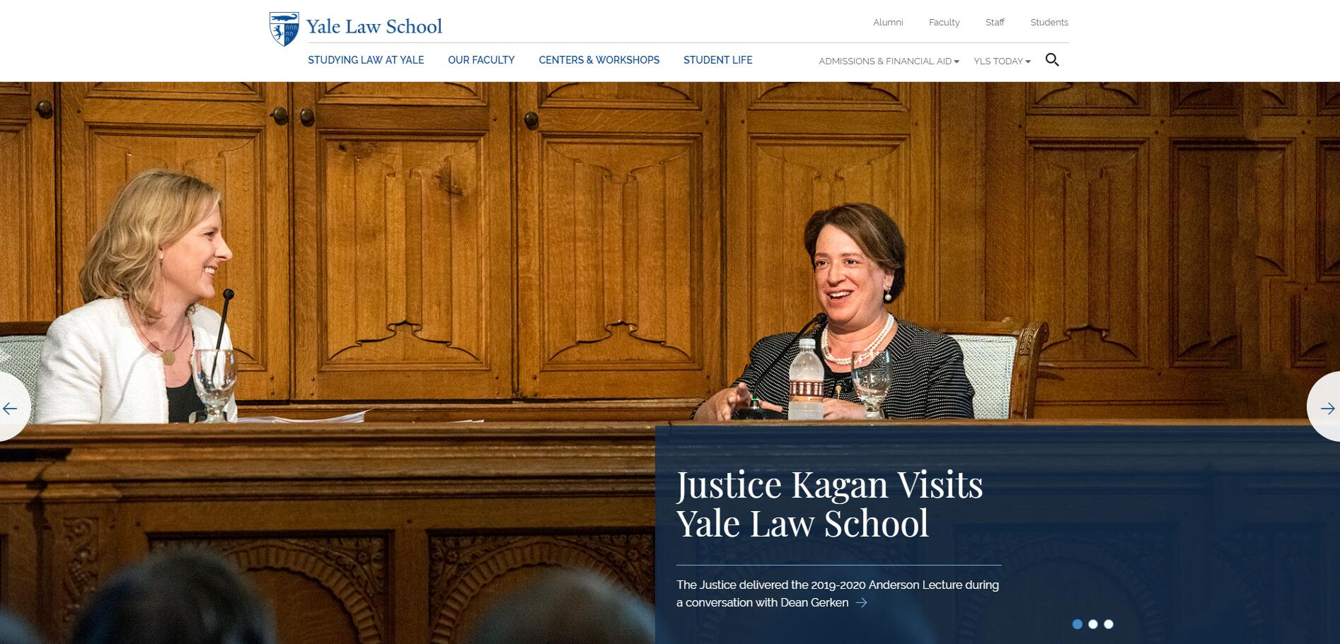The Law School at Yale University