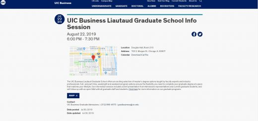 The Liautaud Graduate School of Business at University of Illinois--Chicago