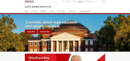 The Louis D. Brandeis School of Law at University of Louisville