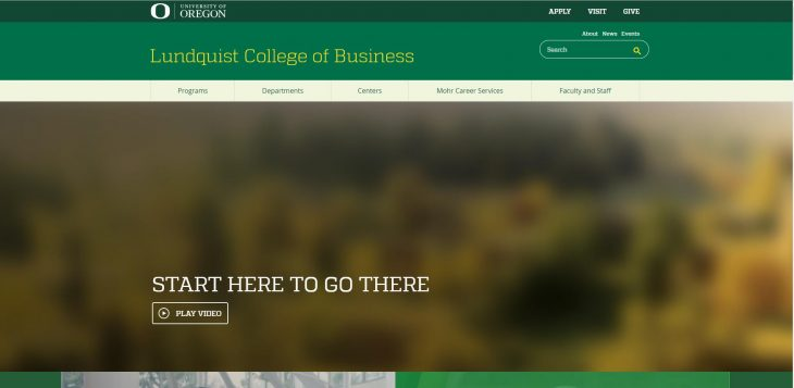 The Lundquist College of Business at University of Oregon