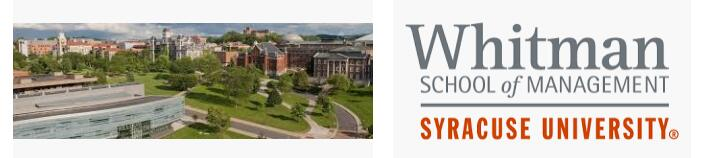 The Martin J. Whitman School of Management at Syracuse University