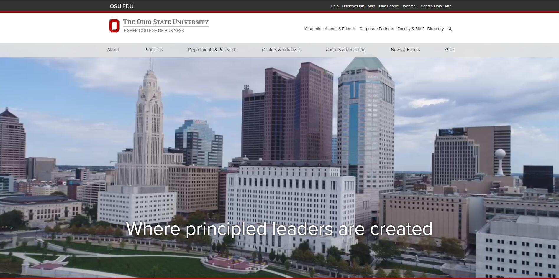The Max M. Fisher College of Business at Ohio State University–Columbus