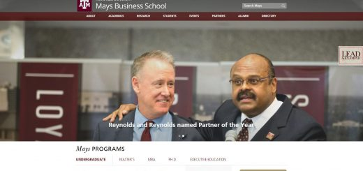 The Mays Business School at Texas A&M University--College Station