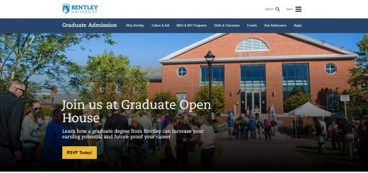 The McCallum Graduate School of Business at Bentley University