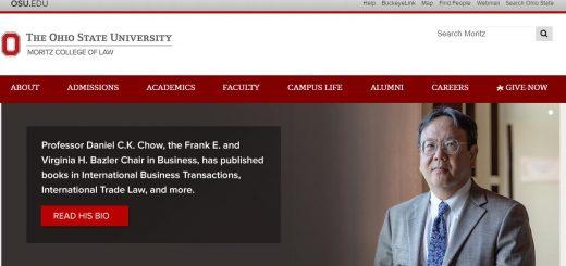 The Michael E. Moritz College of Law at Ohio State University--Columbus