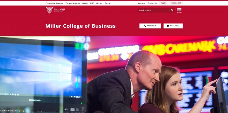 The Miller College of Business at Ball State University