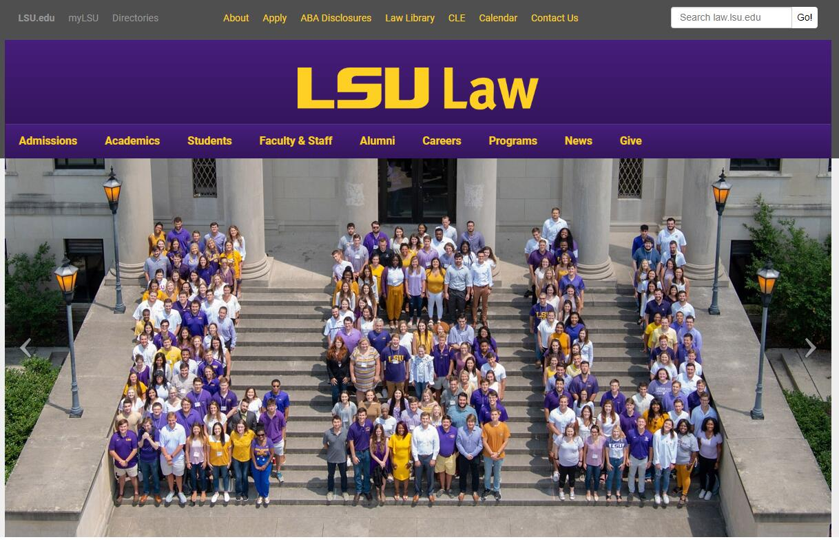 The Paul M. Hebert Law Center at Louisiana State University--Baton Rouge