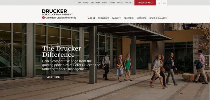 The Peter F. Drucker Graduate School of Management at Claremont Graduate University
