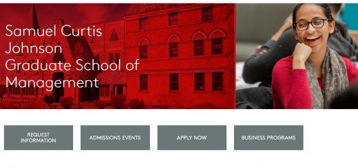 The S.C. Johnson Graduate School of Management at Cornell University