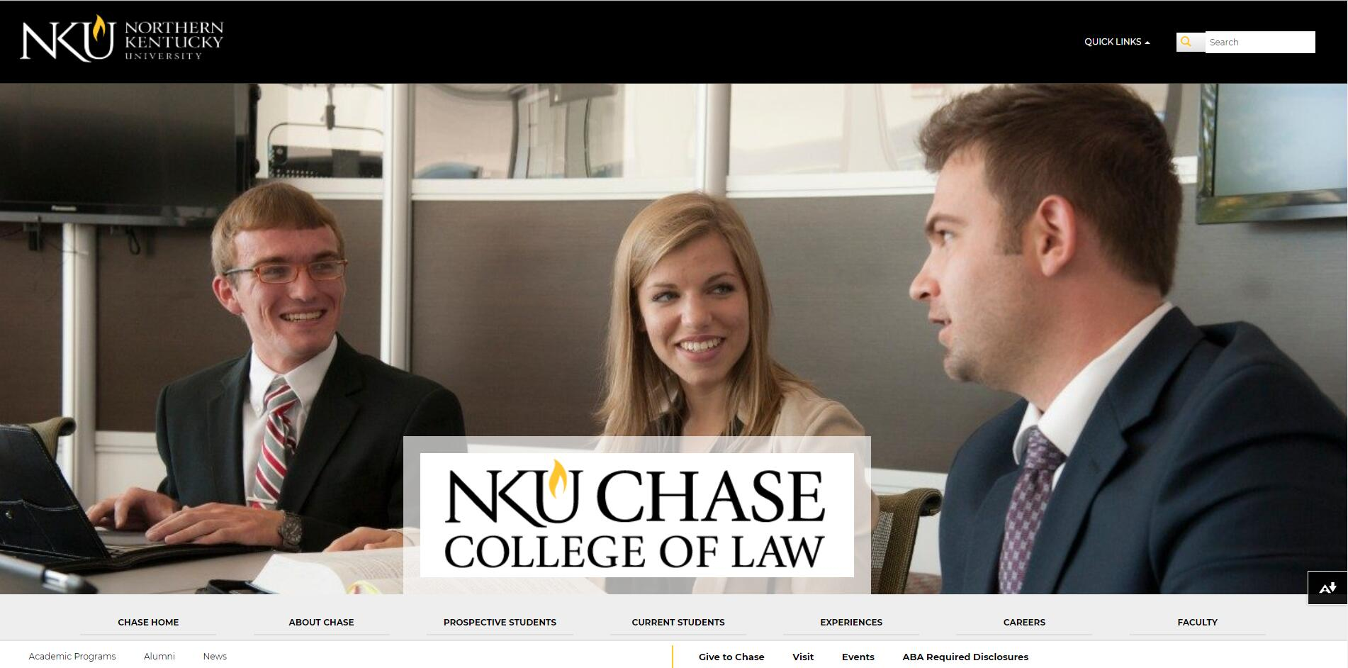 The Salmon P. Chase College of Law at Northern Kentucky University