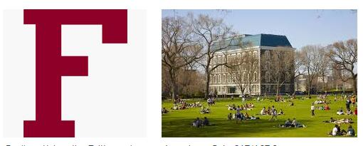 The School of Business Administration at Fordham University