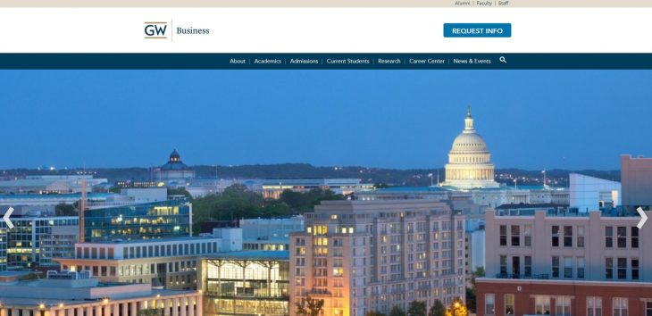 The School of Business at George Washington University