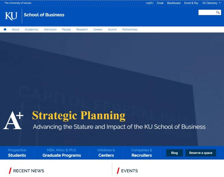 The School of Business at University of Kansas