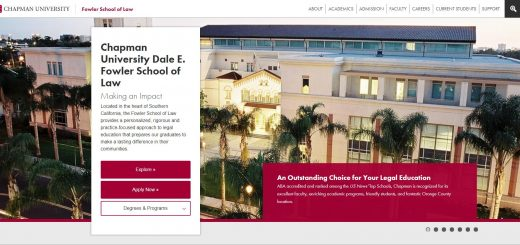 The School of Law at Chapman University