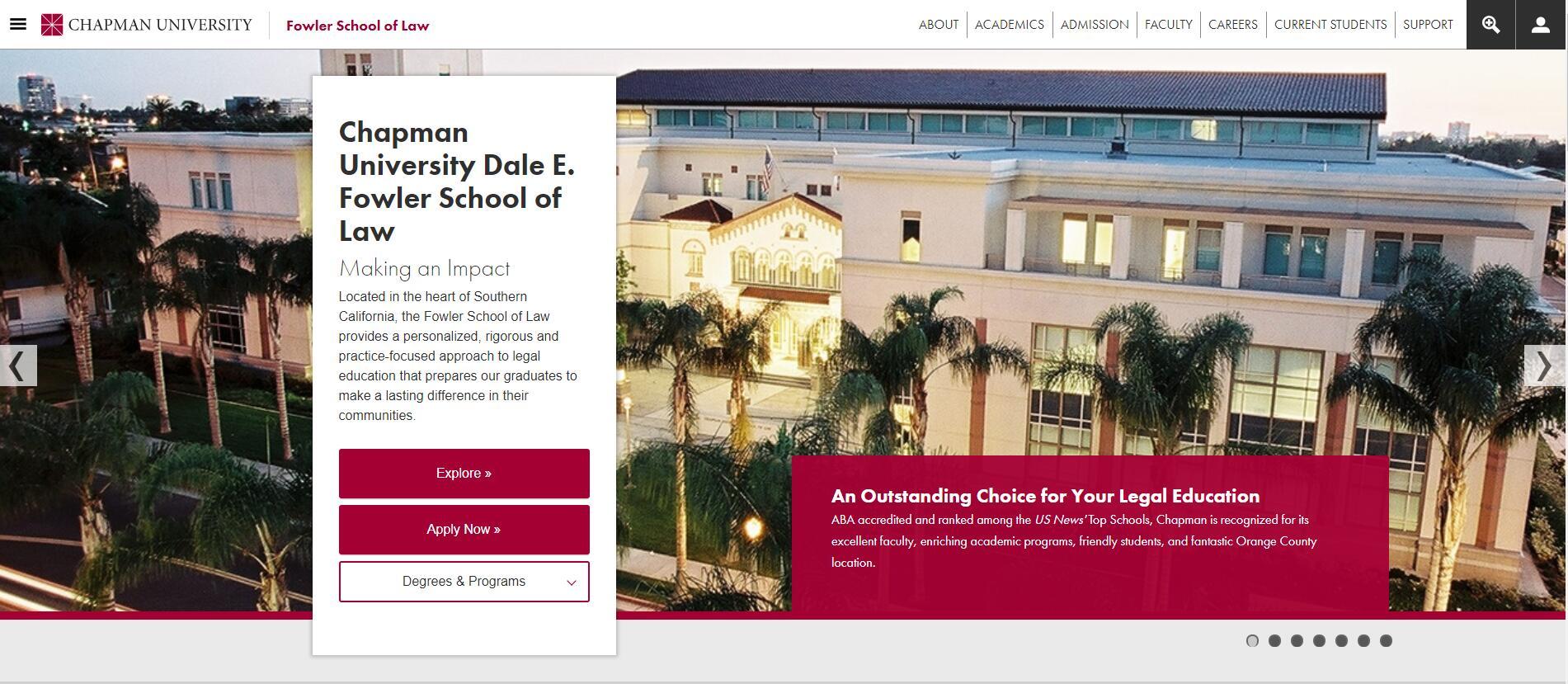 The School of Law at Chapman University