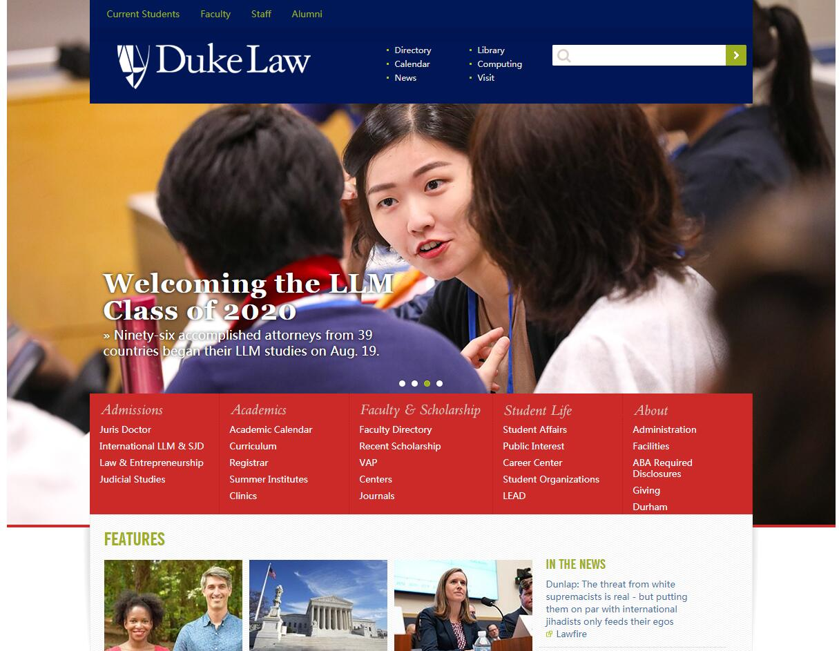 The School of Law at Duke University