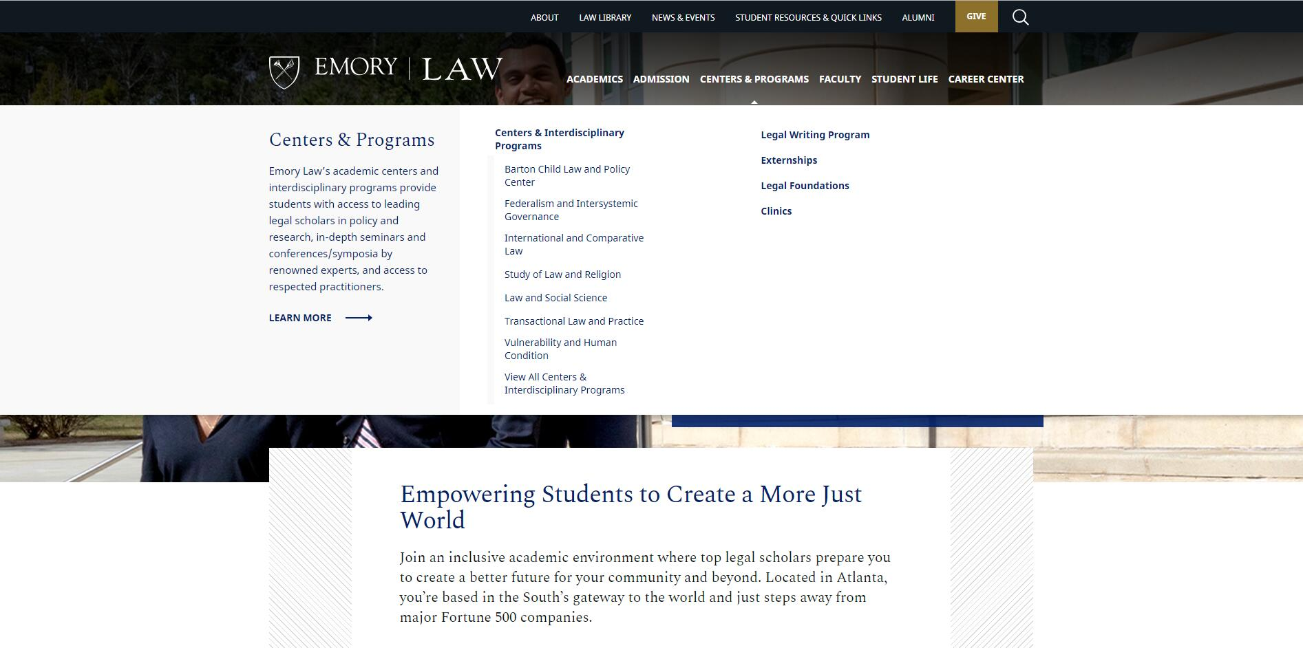 The School of Law at Emory University