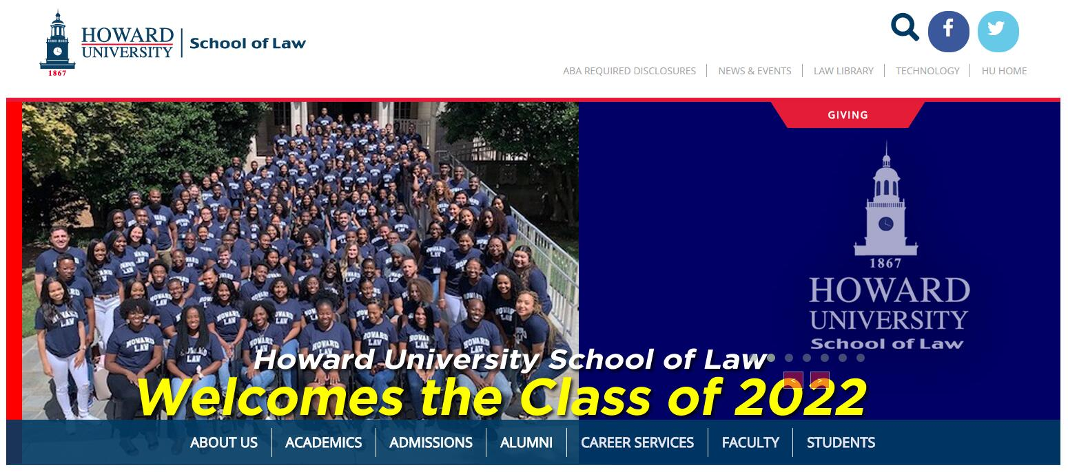 The School of Law at Howard University