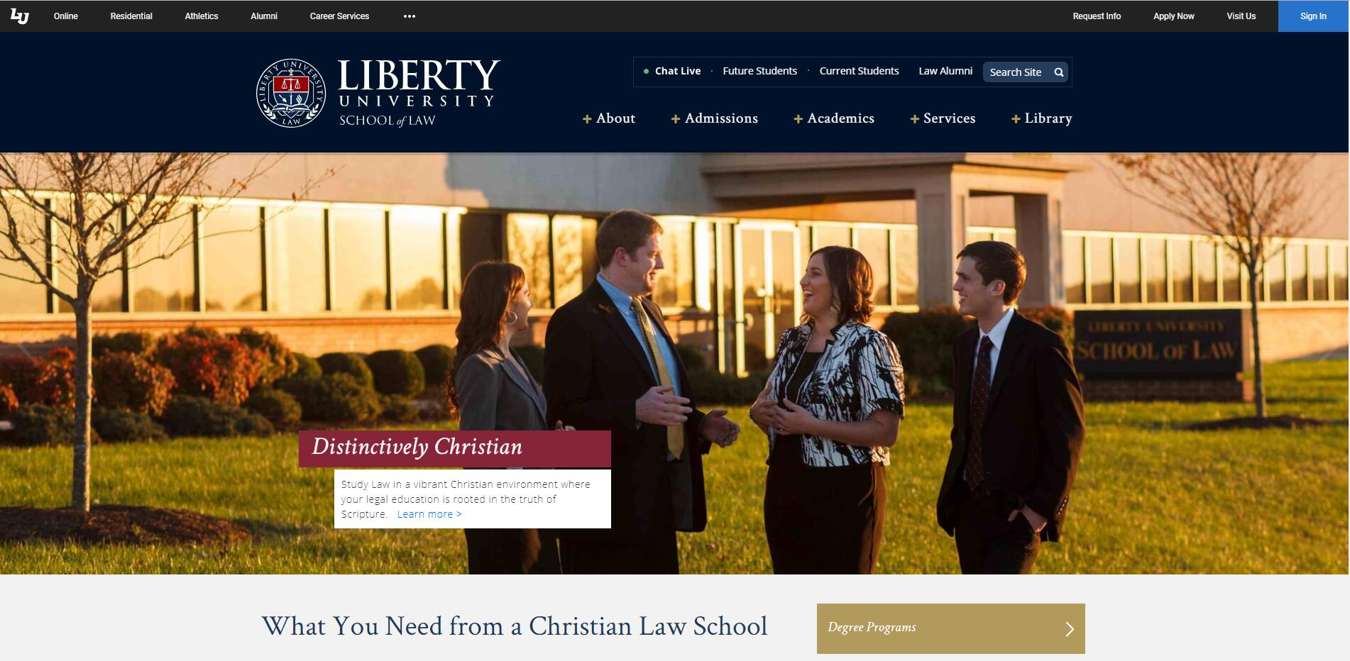 The School of Law at Liberty University