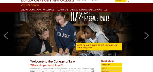 The School of Law at Loyola University New Orleans