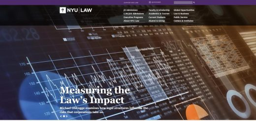 The School of Law at New York University