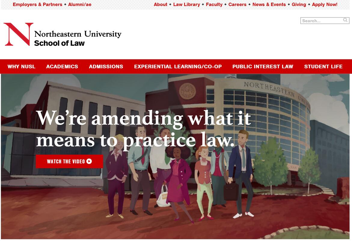 The School of Law at Northeastern University
