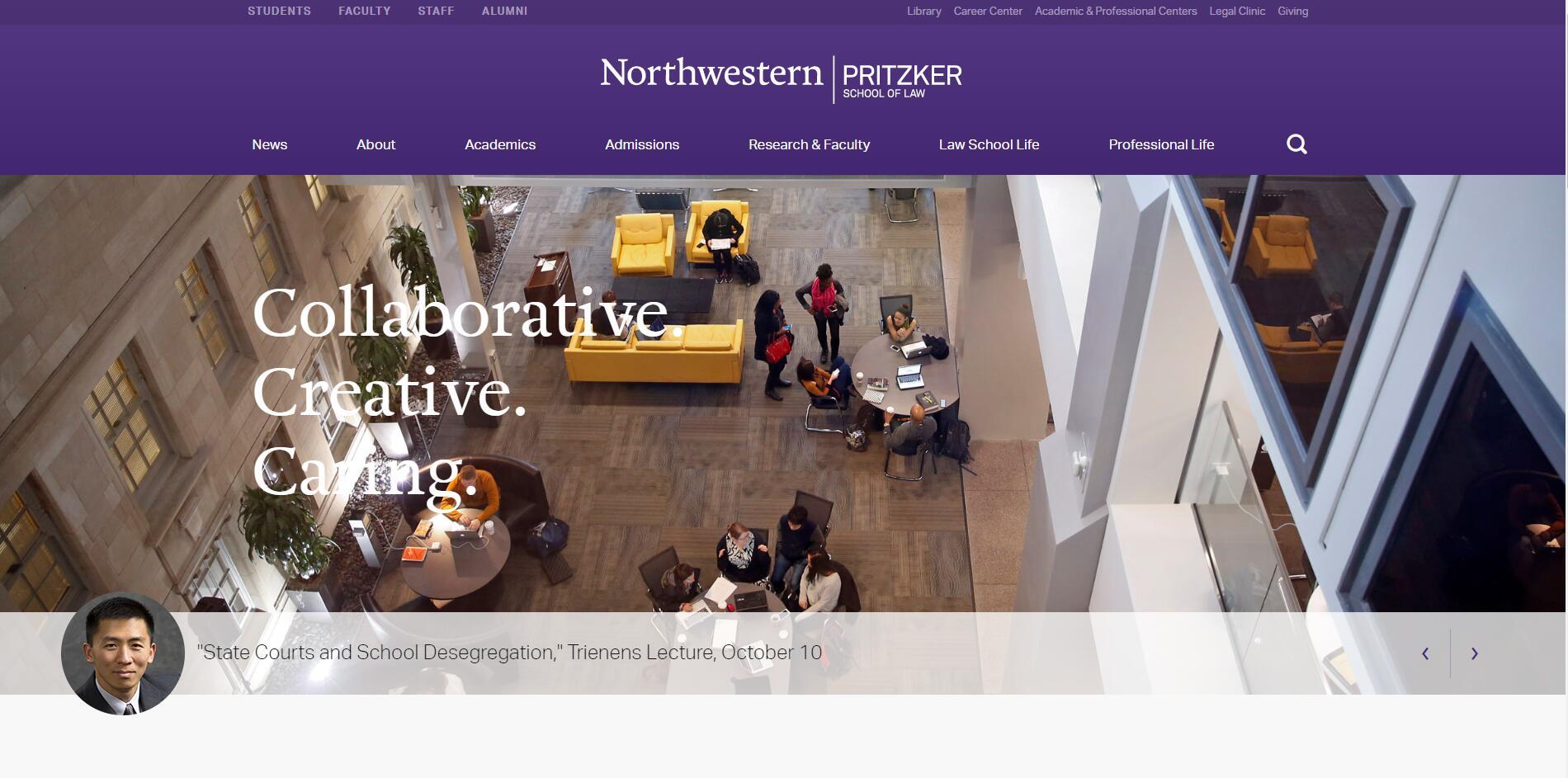 The School of Law at Northwestern University