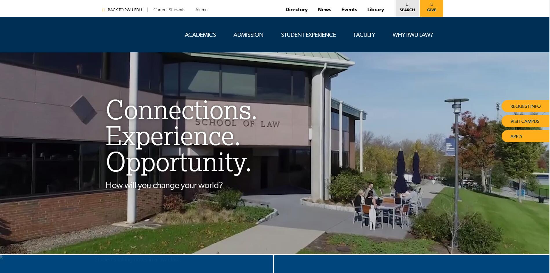 The School of Law at Roger Williams University