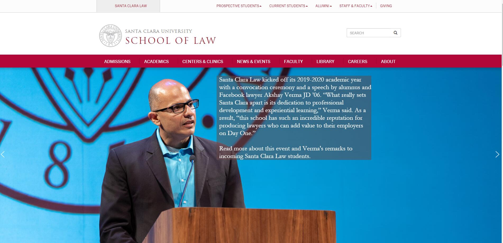 The School of Law at Santa Clara University