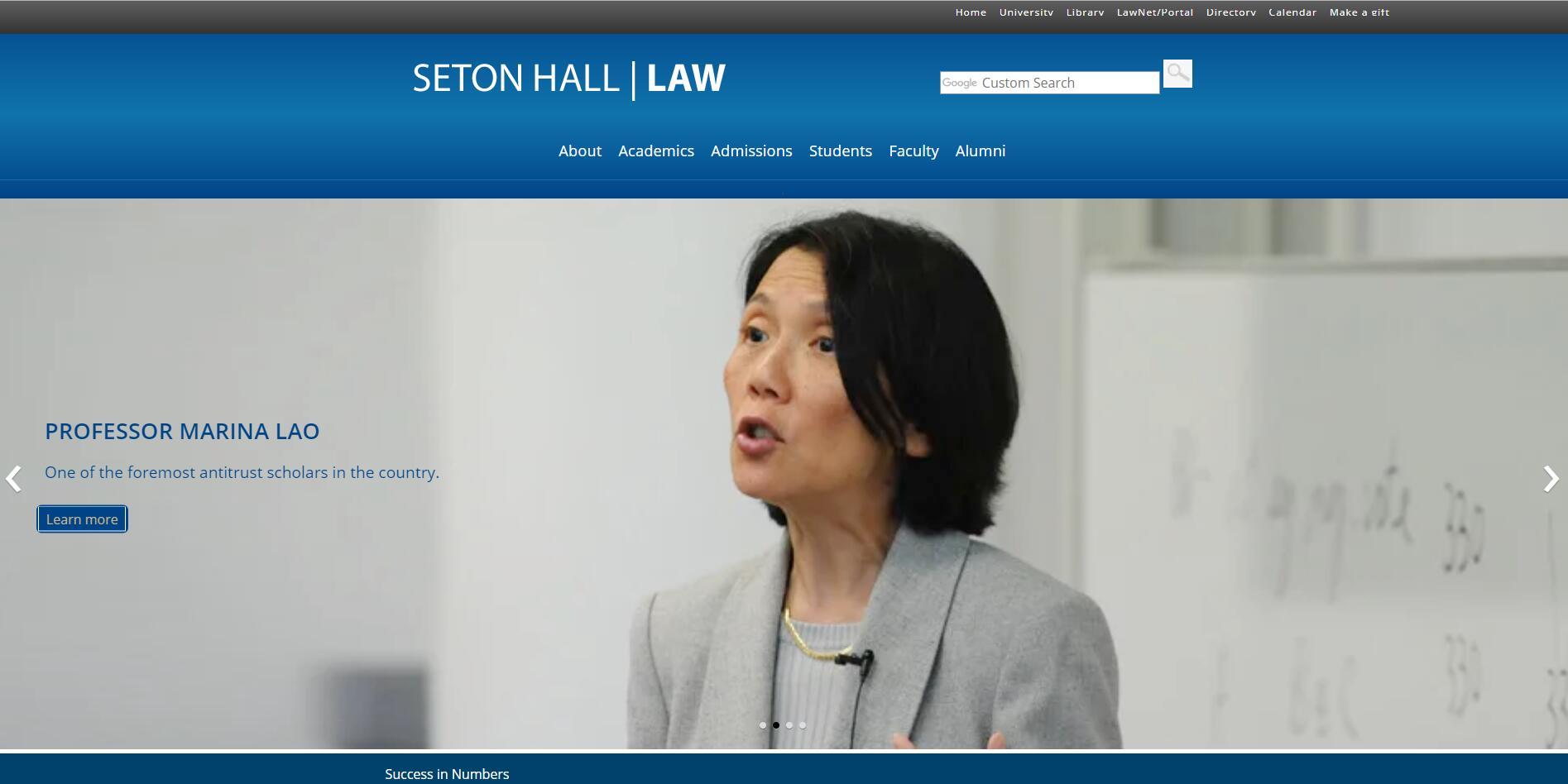 The School of Law at Seton Hall University