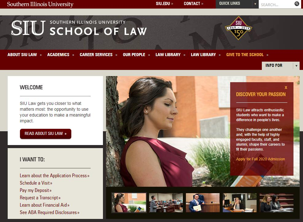 The School of Law at Southern Illinois University--Carbondale