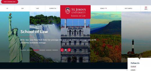 The School of Law at St. John's University (NY)