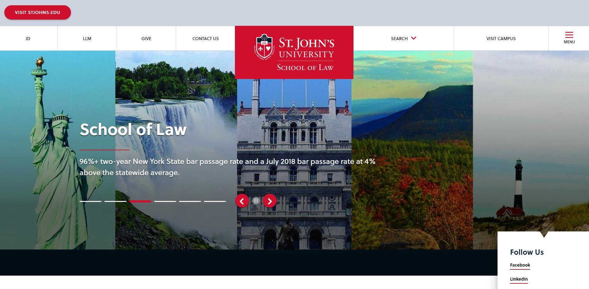 The School of Law at St. John's University (NY)